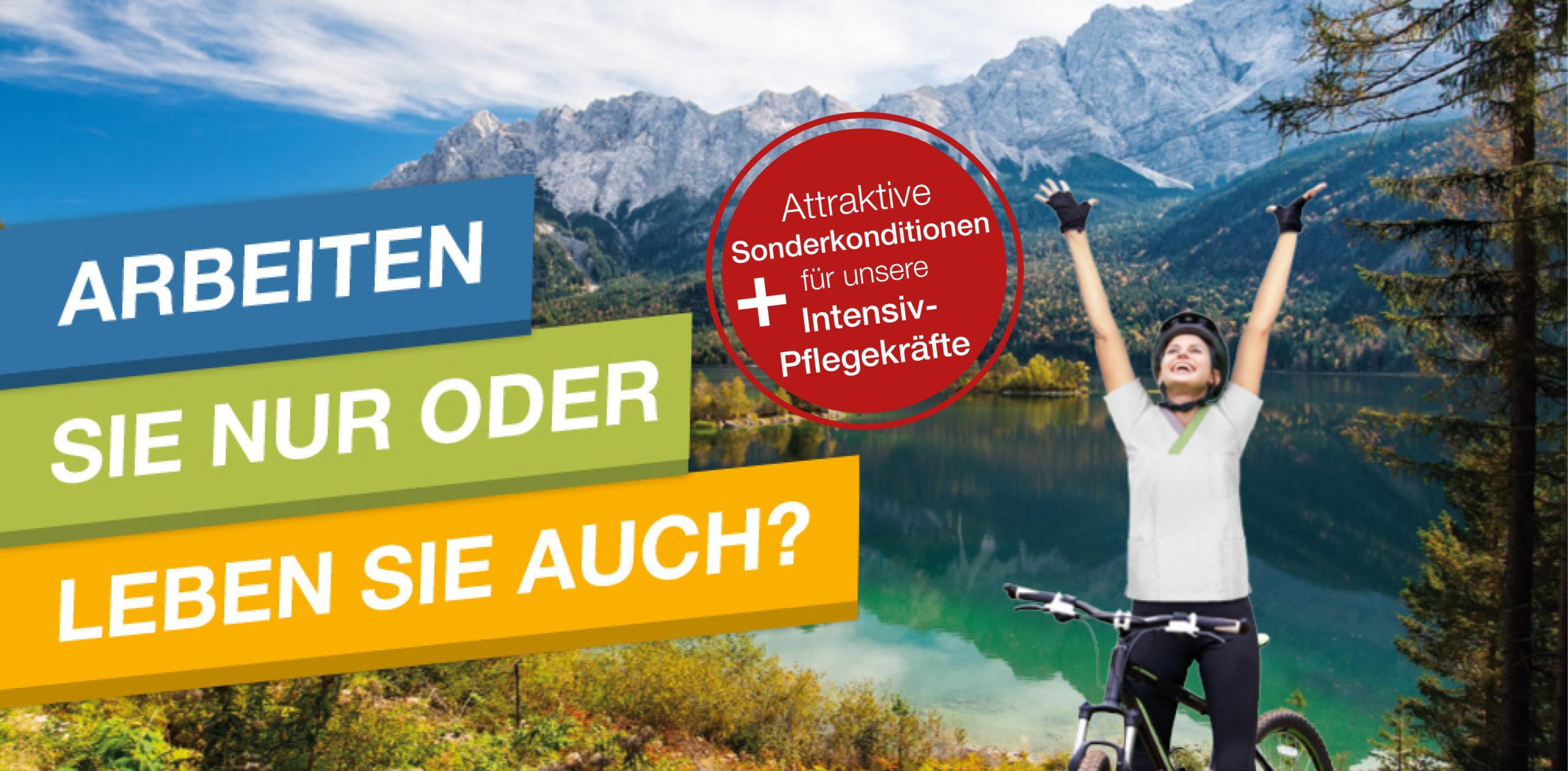 Header für Stellenangebot Gesundheits und Krankenpfleger von Klinikum Garmisch-Partenkirchen